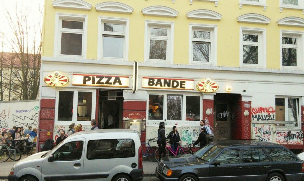 Die pizza bande was ist los in hamburg for Szene hotel hamburg