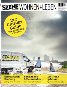 SZENE HAMBURG WOHNEN+LEBEN COVER 2017