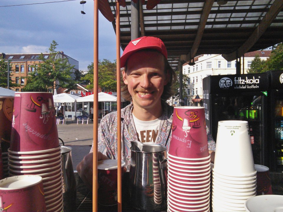 Volker Popup Wilhelmsburg Kaffeeklappe