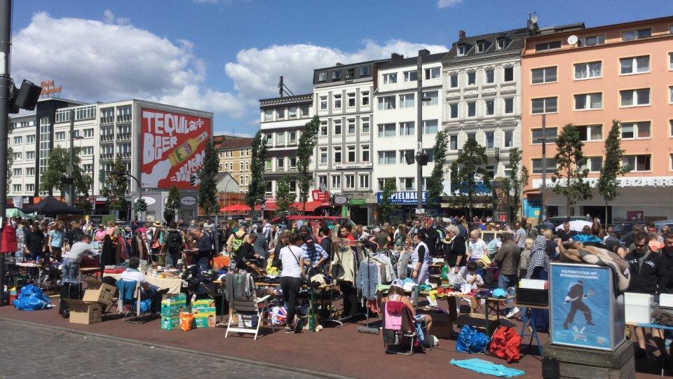 Messehallen Flohmarkt Hamburg