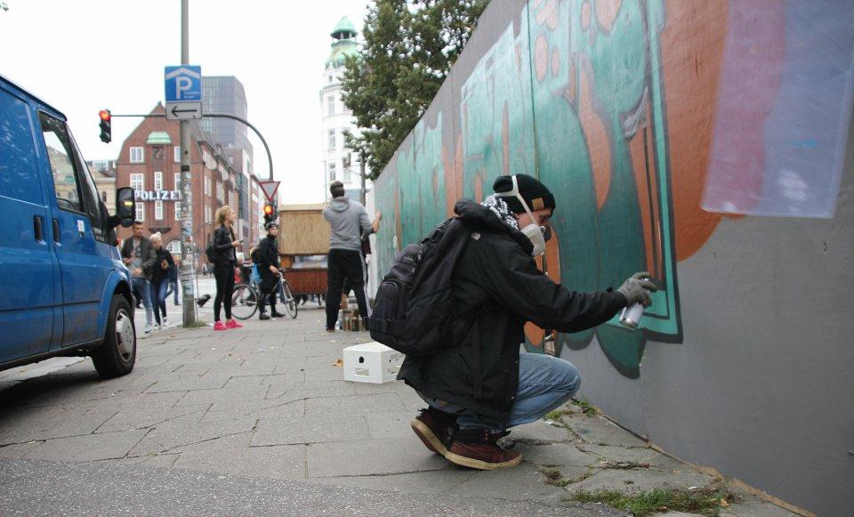 Reeperbahn Festival Sprayer