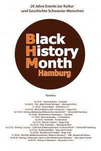 Programm Black History Month Hamburg