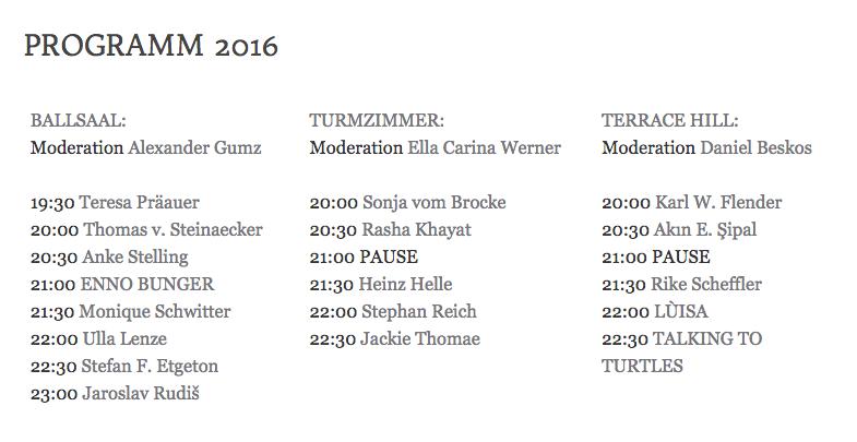 Programm Hamlit Hamburg