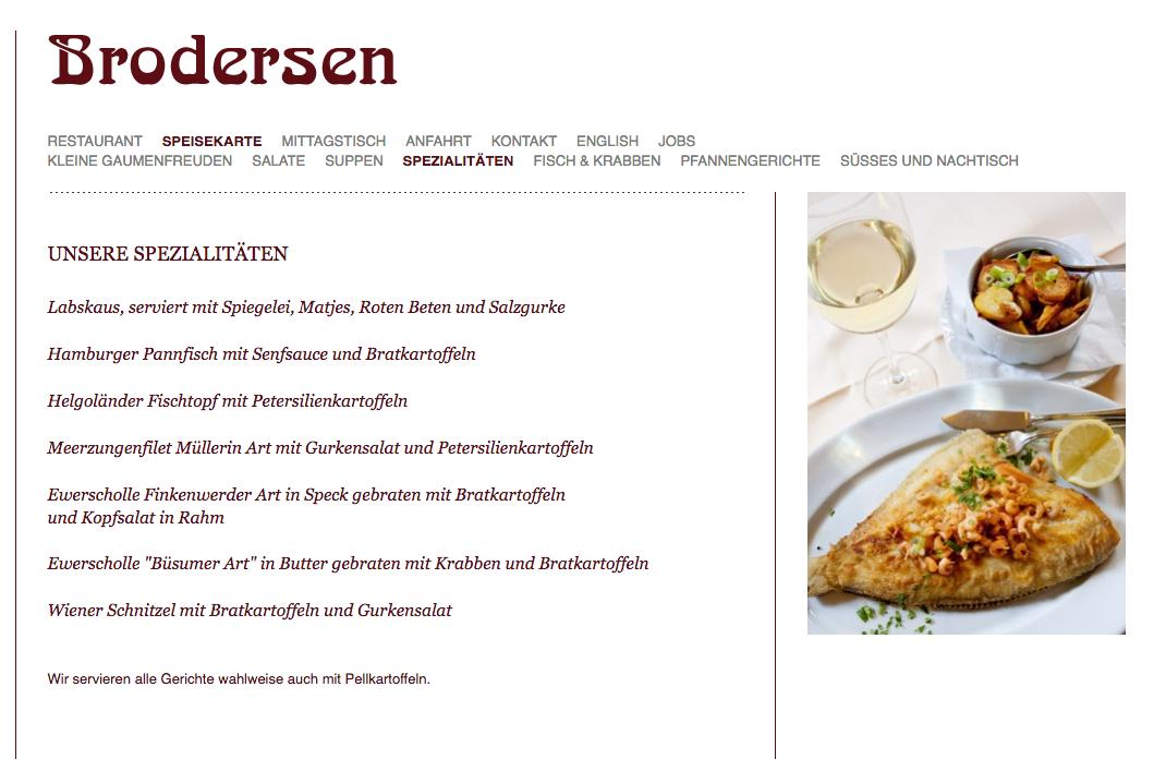 Screenshot Brodersen