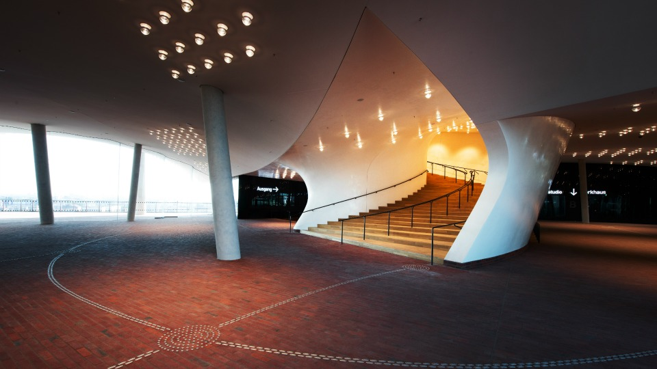 Auch Innen ansehnlich: die Elbphilharmonie