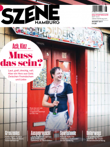 Szene Hamburg Cover August