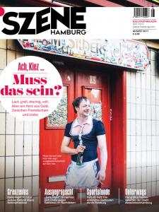 Szene Hamburg Cover August