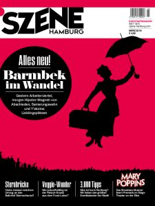 Februar-Ausgabe SZENE Hamburg