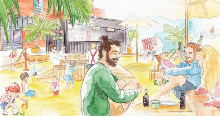 Karo Beach: Deutschlands erster Zero Waste Beach Club ist eröffnet