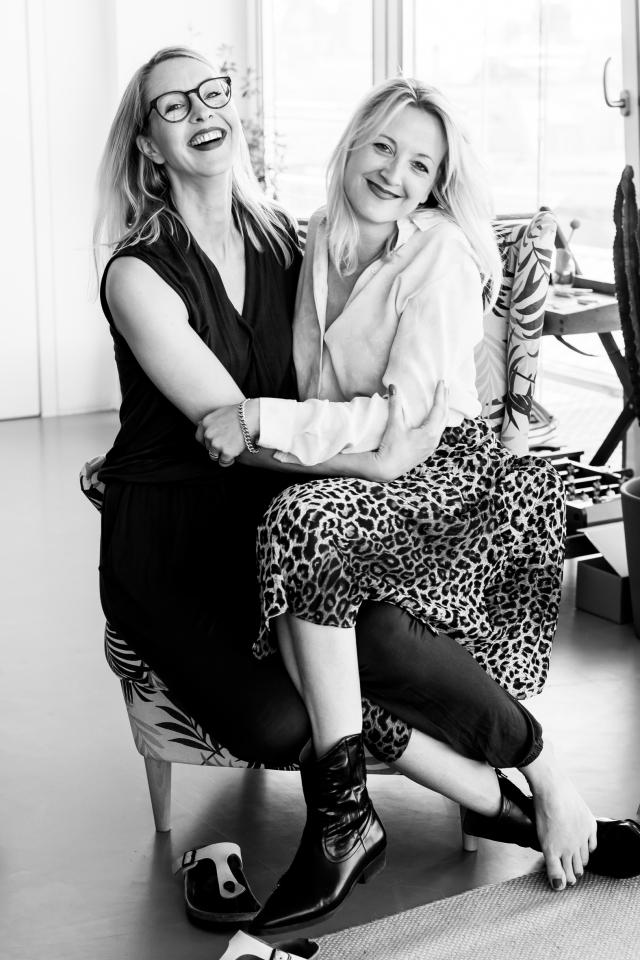 Organisatorinnen des Women's Hub in Hamburg: Lena Carstensen und Dannie Quilitzsch