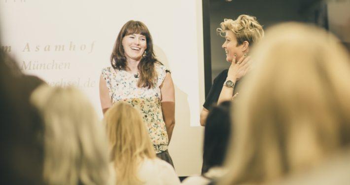 Speakerinnen beim Women's Hub Hamburg Foto: Anne Kaiser
