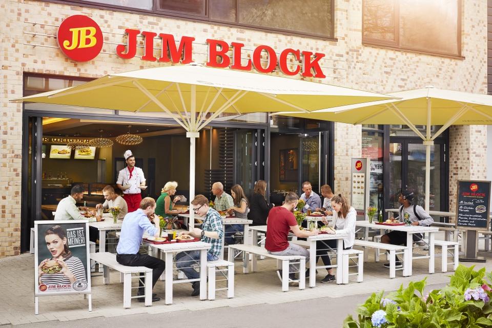 Das beste aus der Systemgastronomie: Burger von Jim Block in Hamburg