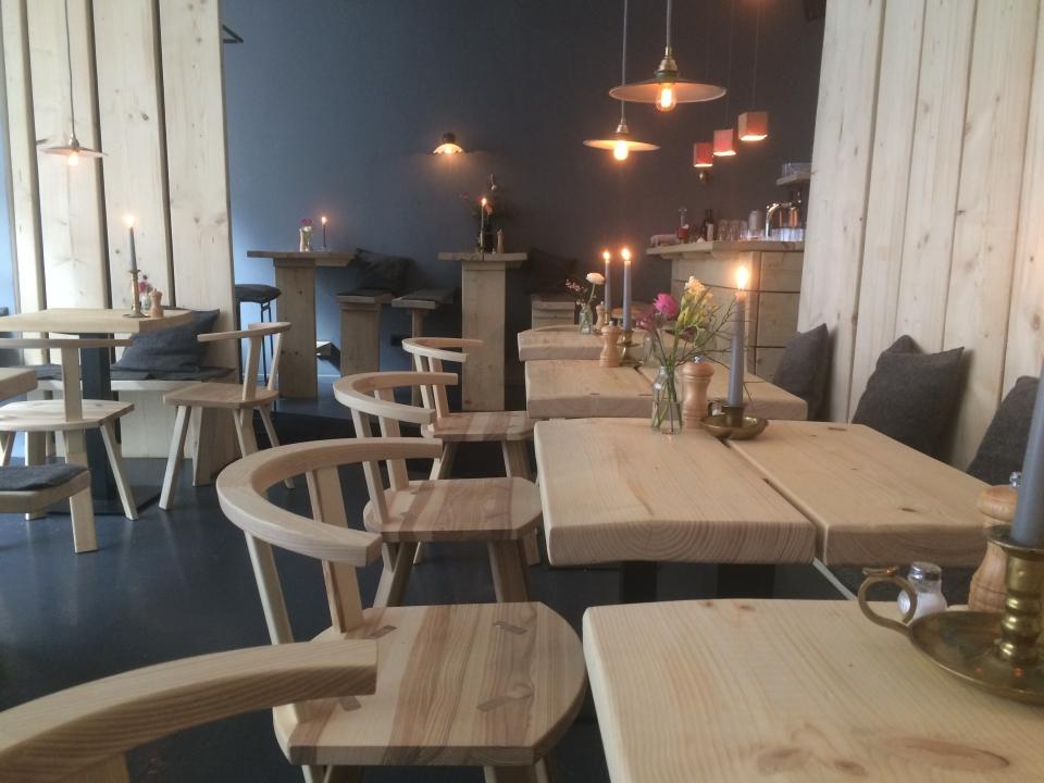 Tische im Marend Restaurant Hamburg