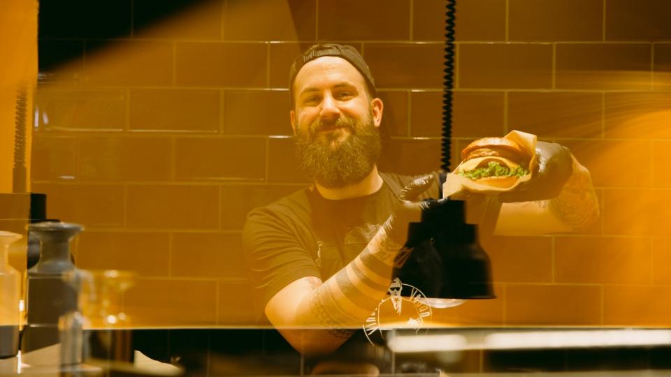 Die Burger von VIncent Vegan gehören zu den besten in Hamburg
