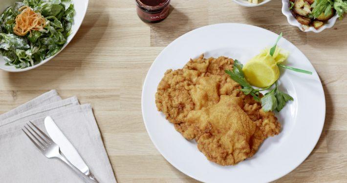 Wiener Schnitzel im Gassenhaur, Foto: Sabine Büttner