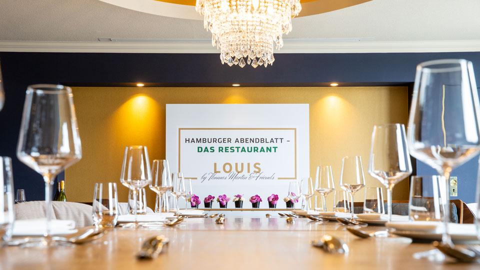 Hamburger Abendblatt Das Restaurant Im Louis By Thomas Martin