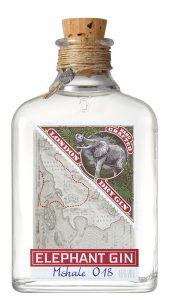 Elephant-Gin-Flasche