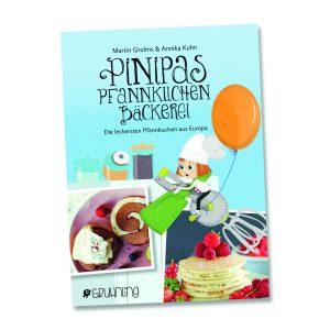 Kochbuch-Tipps für Kinder: Pinipas Pfannkuchenbäckerei