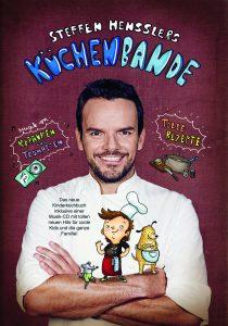 Kochbuch-Tipps für Kinder: Steffen Hensslers Küchenbande