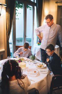 Sterneküche für Kinder: Kleine Gourmets im Jacobs Hamburg Foto: Philipp Jung