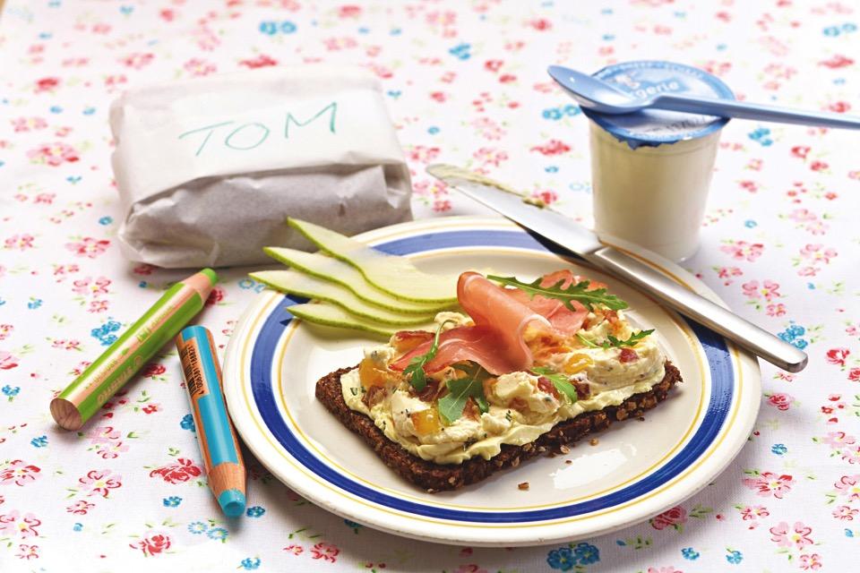 Rezepte für Kinder: Feinschmecker Brot von Beach Schulz
