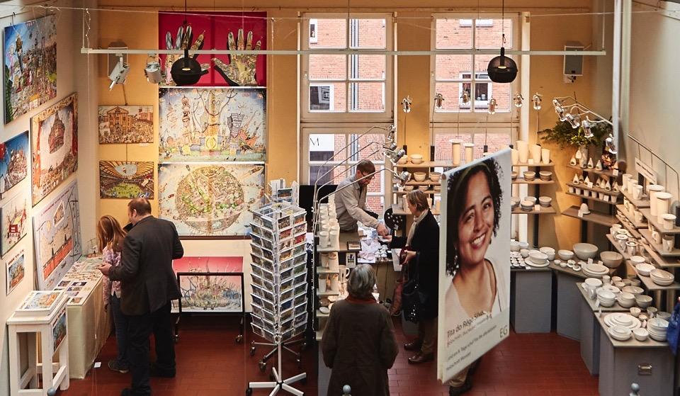 Adventsmarkt in der Koppel 66 in Hamburg. Foto: Michael Marczok