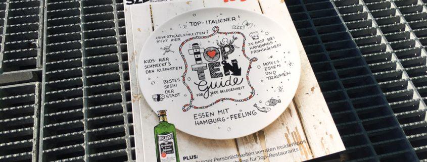 Der neue Top-Ten-Guide SZENE HAMBURG ESSEN+TRINKEN to go enthält Gastrotipps für jede Gelegenheit.