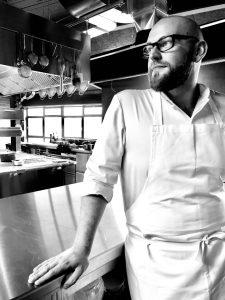 Thomas Imbusch ist der Küchenchef im 100/200 in Hamburg Rothenburgsort