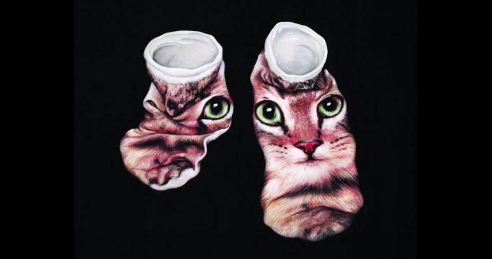 Katzen-Affenfaust-Galerie-c-Coco-Bergholm-ohne-Titel-2016
