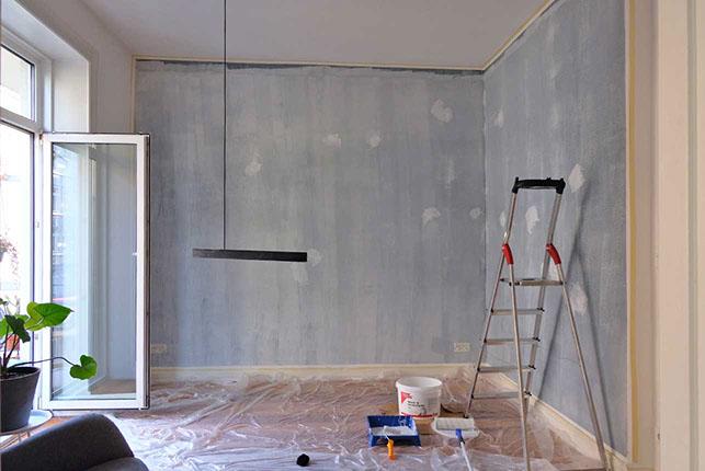 so streichst du richtig sarahs wohntagebuch was ist los in hamburg. Black Bedroom Furniture Sets. Home Design Ideas