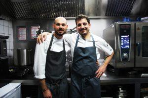 Robin Bender und Maurizio Oster kochen im ZEIK Restaurant in Hamburg Gut Ding will auch im Zeik Restaurant in Hamburg © Jasmin Shamsi