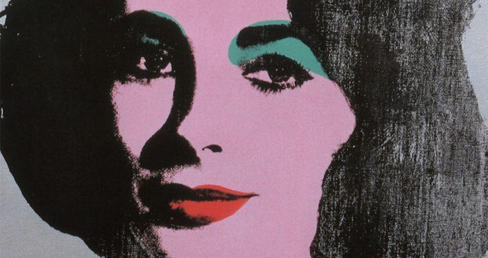 Andy-Warhol--Silver-Liz-1963