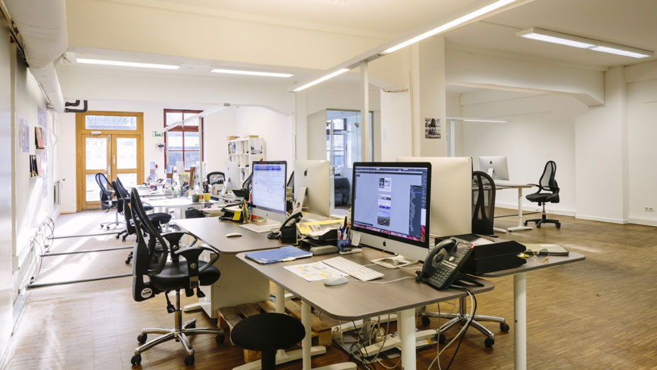 SZENE HAMBURG Büro in Ottensen
