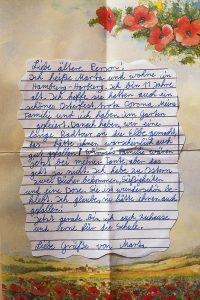 Marta-hoffnungsbrief