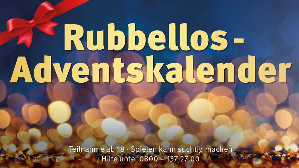 Rubbellos Adventskalender 2021