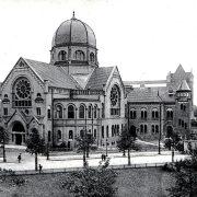 Bornplatzsynagoge-Postkarte-Knackstedt-Näther-1906-c-Stift