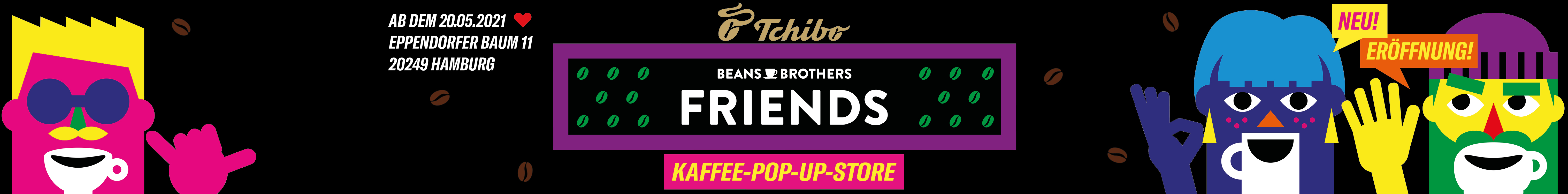 Superbanner Tchibo Beans Brothers