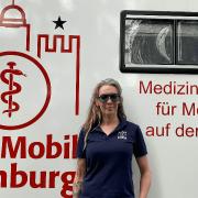 Mitgründerin und Geschäftsführerin von ArztMobil Hamburg: Julia Hermann © Markus Gölzer