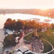 NORDEN Festival – NORDEN von oben, Drohnenbild: Foto: NORDEN Festival