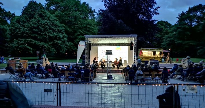 Klassik Konzerte im Hammer Park; © Stadtteilinitiative Hamm e.V