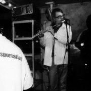 Jimi Tenor bei seiner ersten Pudel-Show im Jahr 2000; Foto: Katja Ruge