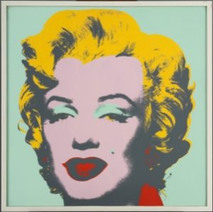 Warhol Marilyn, Blatt 7; © 2019 The Andy Warhol Foundation for the visual Arts, Inc. Licensed by Artists Rights Society, New York/Foto: Christoph Irrgang