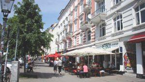 Das Schulterblatt im Schanzenviertel; Foto: Johanna Zobel