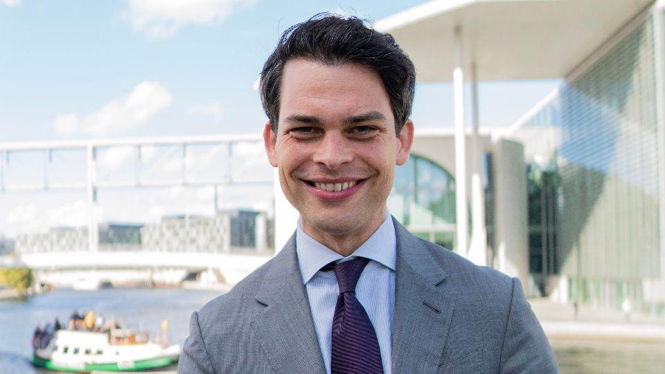 CDU-Kandidat Christoph Ploß; Foto: Tobias Koch
