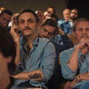 """""""Große Freiheit"""" mit Schauspiel-Star Franz Rogowski (Mitte) ist der diesjährige Eröffnungsfilm des Filmfest Hamburg; Foto: Freibeuterfilm, Rohfilm"""