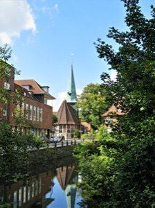 Das historische Zentrum von Bergedorf; Foto: Monika Schroeder/Pixabay