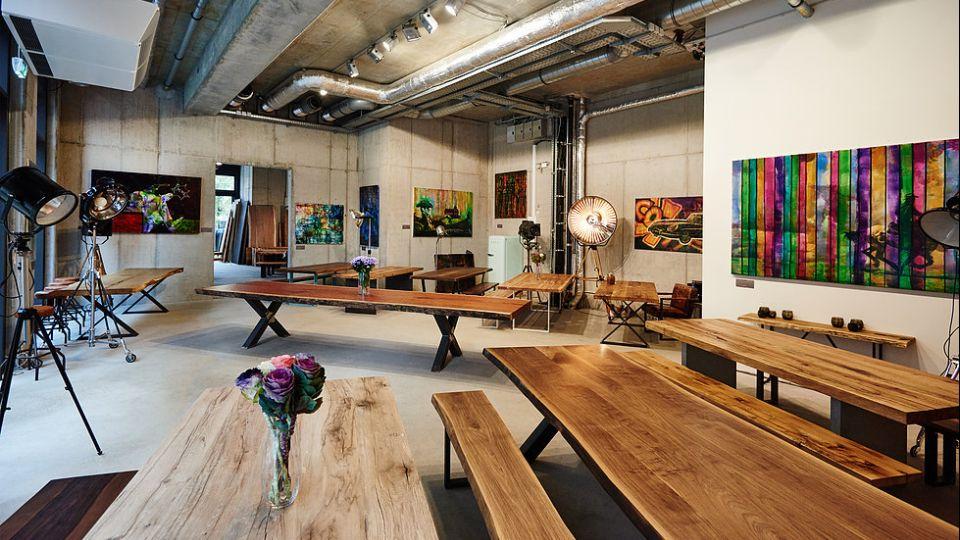 Einfach schöne Möbel im Holzwerk; Foto: Holzwerk