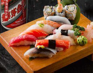 Moutai-pairing-sushi