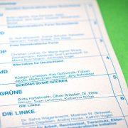 Wahlzettel zur Bundestagswahl 2021; Foto: unsplash/Mika Baumeister