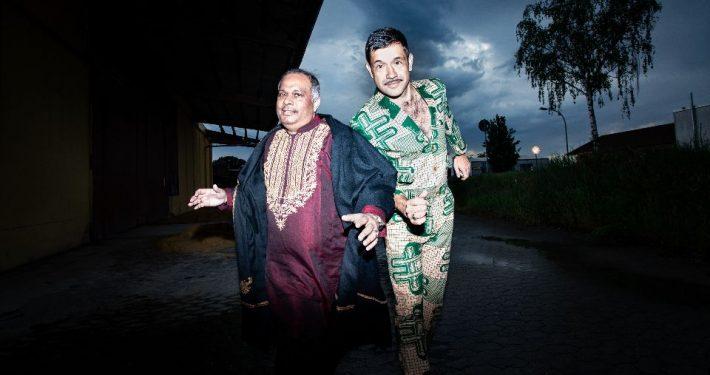 Ashraf Sharif Khanmund Viktor Marek sind ein Teil der SILK::ROAD experience (Foto: Frank Egel)
